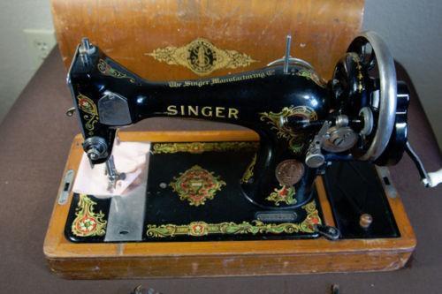 Hand Crank Sewing Machine EBay Magnificent Singer Sewing Machine 1911 Value
