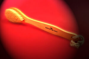 AQ Natural Bristle Brush - DELUXE EXTRA LARGE BODY/BACK
