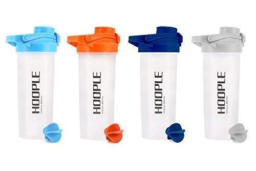 Protein Shaker Bottle Gym Sports Water Smoothie Mixer Cups Blending Ball 24 oz 1