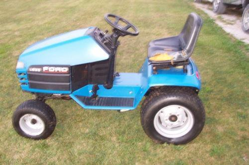 Ford Riding Lawn Mowers History