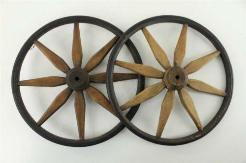 Antique Carriage Wheels Ebay