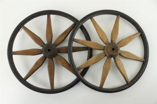 Antique Carriage Wheels Ebay