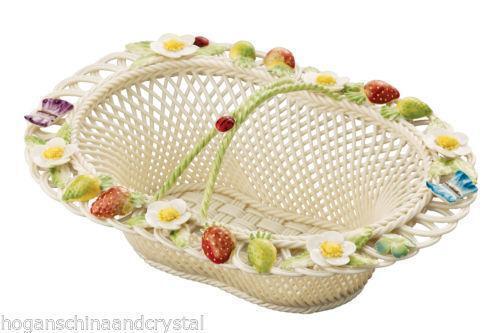 Belleek Basket Ebay