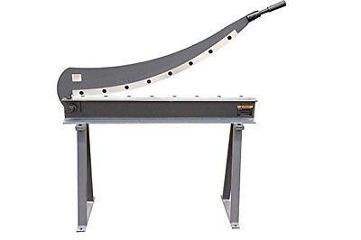 Kaka Hs-1000 40x16 Manual Guillotine Shear Metal Plate Cutting Shear With Stand