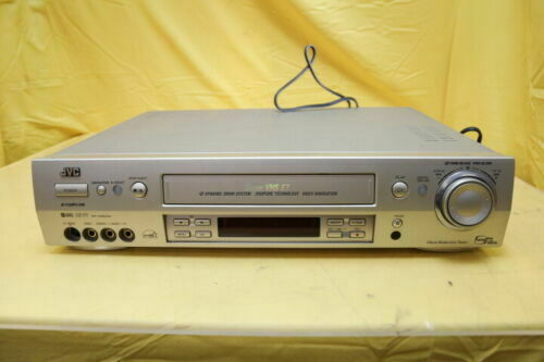 JVC HR-S9800U SUPER VHS S-VHS ET PROFESSIONAL VCR WORK FOR VIDEO TRANSFER TO DVD
