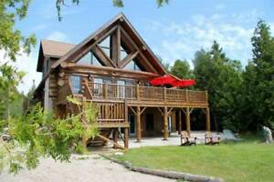 Golden Pines Waterfront Executive Cottage Rental