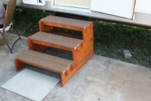 Looking To Buy Wooden Stairs For An Outdoor Camper