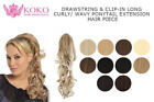 Clip - in Ponytail Wavy Hair Extensions