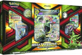 Pokemon TCG Mega Tyranitar EX Premium Collection Box: Booster Packs +Promo Cards