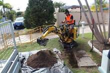 Ozziquip Micro Excavator for Hire Oxenford Gold Coast North Preview