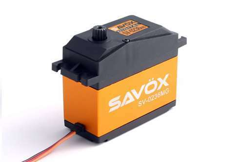 Savox SV-0236MG Super Torque Steel Gear Digital 1/5th Servo High Voltage BAJA