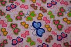 By the Yard Quilting Fabric Butterfly