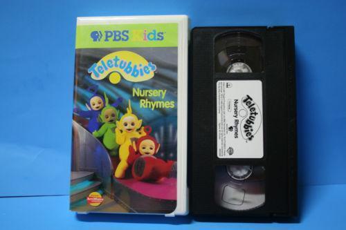 Teletubbies Nursery Rhymes VHS   eBay