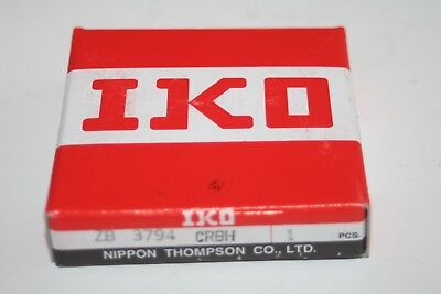 Iko Nippon Thompson Zb 3794 Crbh Crossed Roller Bearing Crbs 50 50x66x8 New