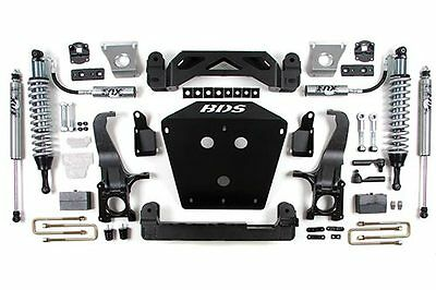 "2007-2015 TOYOTA TUNDRA 4X4 2X4 7"" LIFT KIT BDS SUSPENSION FOX SHOCK COILOVERS"