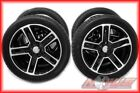 24 Offset Car & Truck Wheel & Tire Packages 9 Rim Width