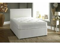 💎FURNITURE FREE💎DOUBLE AND KING SIZE DIVAN BED BASE WITH OPTIONAL MATTRESS & HEADBOARD💎