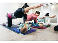Post-natal Pilates class with Physiotherapist Led Pilates