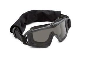 NEW REVISION Military Desert Locust Fan Goggle, Solar Lens/Black