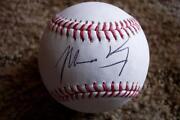 Matt Kemp Signed Baseball