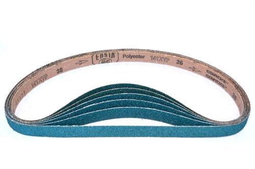 1 X 30 Inch Sanding Belts Zirconia Cloth Sander Belts (12 Pack, 120 Grit)