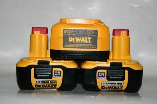 Dewalt 18v Lithium Battery 9180 Ebay