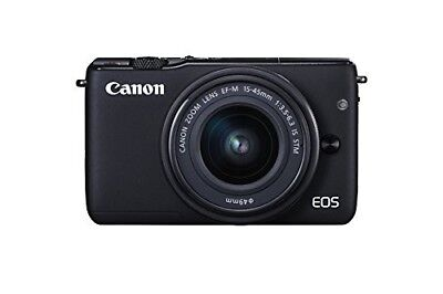 NEW Canon EOS M10 18MP Compact DLSR Digital Camera with 15-4