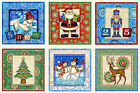 Quilting Treasures Holiday/Christmas Craft Fabric Panels