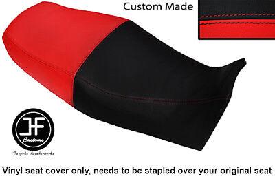 BLACK AND RED VINYL CUSTOM FITS <em>YAMAHA</em> XJ 900 S DIVERSION 94 04 DUAL S