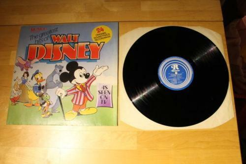 Disney Vinyl Records Ebay
