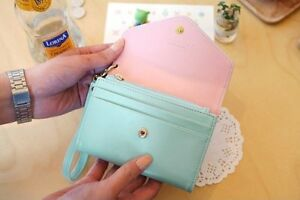Mint Blue Wristlet Wallet Case Handbag Kitchener / Waterloo Kitchener Area image 2