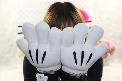 Minnie Mickey Mouse Gloves Pair Costume Cosplay Party Men Women Gloves Gifts - Mickey Mouse Men Costume