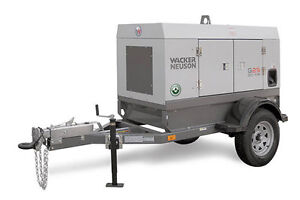 Portable and Towable Generator Rentals