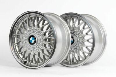 ::BMW 15x7 E30 4x100 BBS #5 Genuine Euro-Weaves OEM Wheels E10 E21 318i 325i ATE