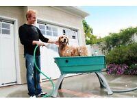Booster bath. Pet cleaning unit.