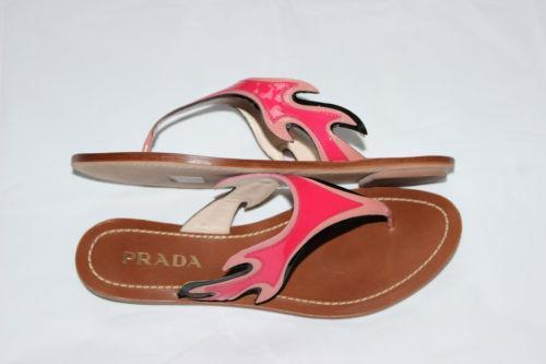 prada flame clothing shoes accessories ebay. Black Bedroom Furniture Sets. Home Design Ideas