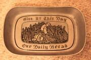 Give US This Day Our Daily Bread Plate