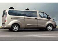 15 Plate Ford Tourneo Private Hire Minibus Taxi for Rent Nightshift Edinburgh City