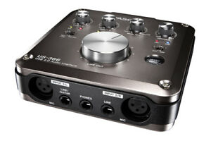 TASCAM US-366 4-In/6-Out or 6-In/4-Out USB Audio Interface
