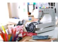 'Sew Alter Stich' offers garment altering, custom made clothing & curtains.