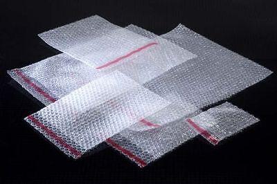 100 Plain Bubble Wrap Bags Pouches 180mm X 235mm Bb3 7 X 9.