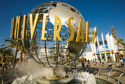 2 Universal studios hollywood etickets