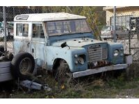 landrover project wanted