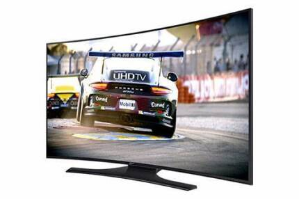 BE QUICK- 4K UHD SAMSUNG CURVED SMART TV 65""