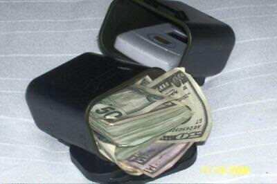 Large Magnetic Stash Box Can Under Car, Hidden Safe Home Security Compartment