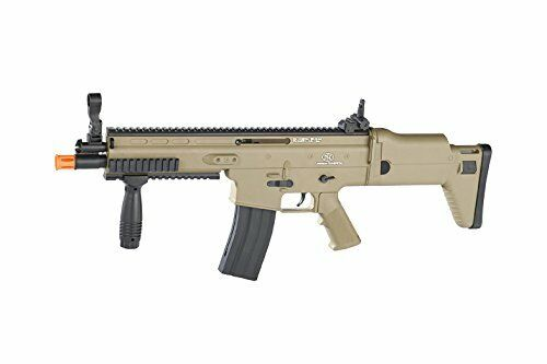 High Performance Spring Rifle w/ Retractable & Foldable Stock for Upto 400 FPS