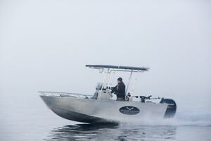 18' Centre Console Welded Aluminum Boat