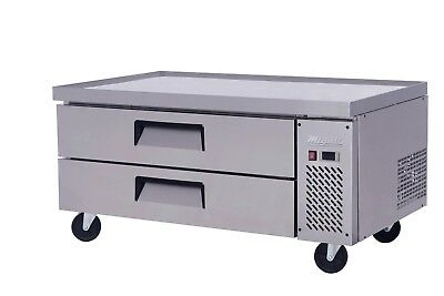 Migali C-cb52-60 60 Refrigerated Chef Base - 2 Drawers - 18 Pans Free Shipping