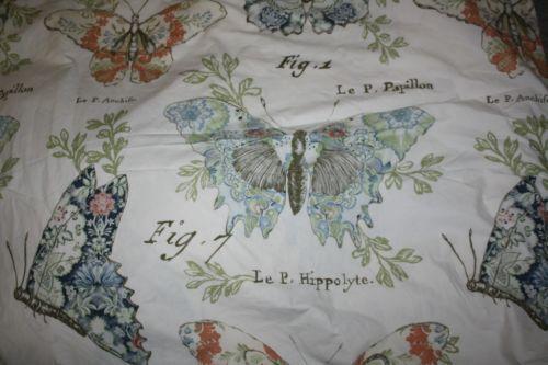 Pottery Barn Butterfly Duvet Ebay