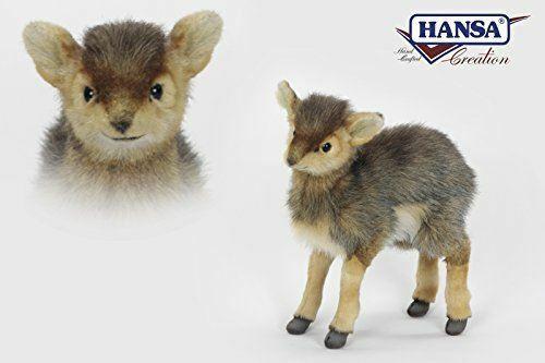 "Hansa Dik Dik Antelope Plush Soft Toy 11"" H"